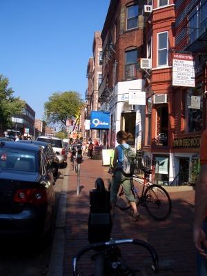 Parking on JFK Street in Cambridge MA